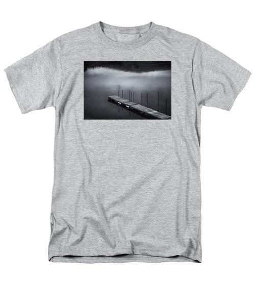 Men's T-Shirt  (Regular Fit) featuring the photograph Marina Dock by Tom Singleton