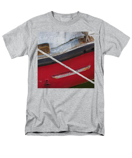 Men's T-Shirt  (Regular Fit) featuring the photograph Marine Abstract by Charles Harden