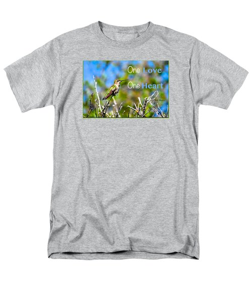 Men's T-Shirt  (Regular Fit) featuring the photograph Marley Love  by David Norman