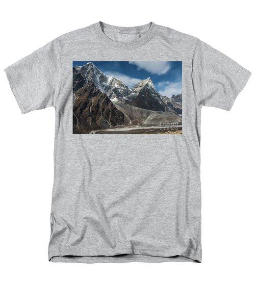 Men's T-Shirt  (Regular Fit) featuring the photograph Massive Tabuche Peak Nepal by Mike Reid