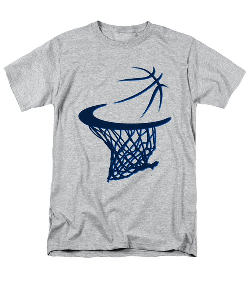 Mavericks Basketball Hoops Men's T-Shirt  (Regular Fit)