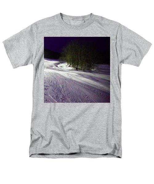Men's T-Shirt  (Regular Fit) featuring the photograph Mccauley Evening Snowscape by David Patterson