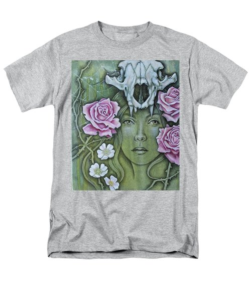 Men's T-Shirt  (Regular Fit) featuring the mixed media Medicinae by Sheri Howe
