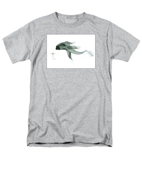 Megic Fish 1 Men's T-Shirt  (Regular Fit)