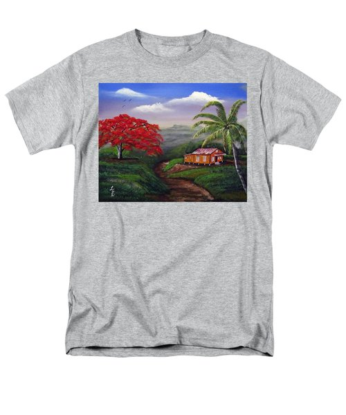 Memories Of My Island Men's T-Shirt  (Regular Fit) by Luis F Rodriguez