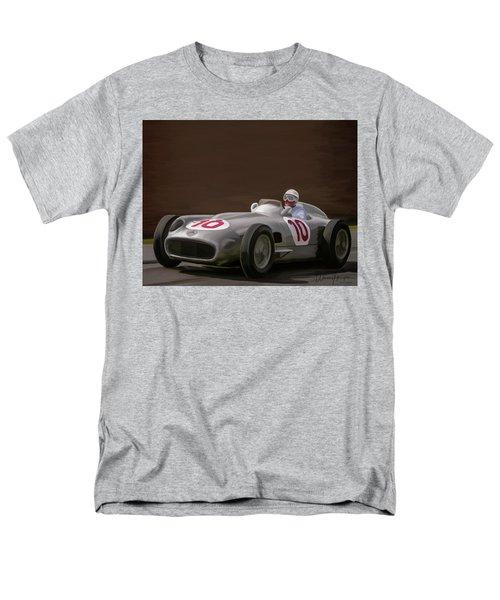 Mercedes-benz W196 Number 10 Men's T-Shirt  (Regular Fit) by Wally Hampton