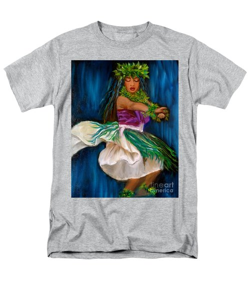 Merrie Monarch Hula Men's T-Shirt  (Regular Fit) by Jenny Lee