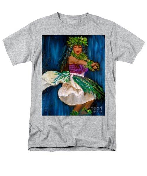 Merrie Monarch Hula Men's T-Shirt  (Regular Fit) by Jenny Lee