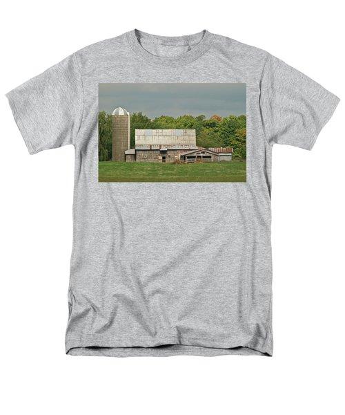 Michigan Dairy Barn Men's T-Shirt  (Regular Fit) by Michael Peychich