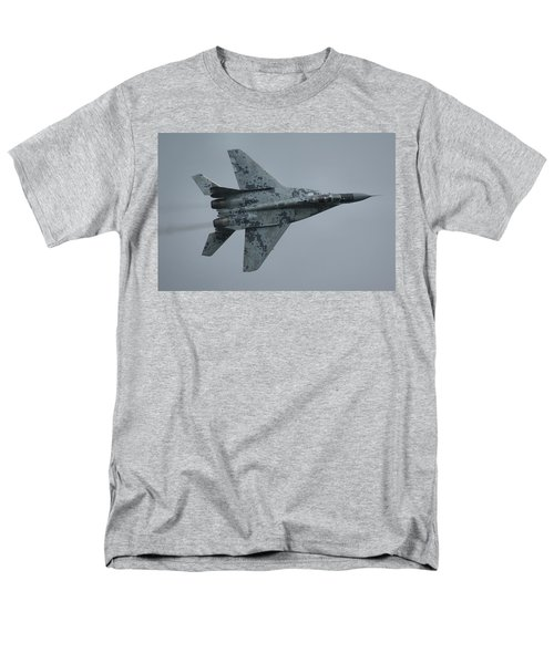 Men's T-Shirt  (Regular Fit) featuring the photograph Mikoyan-gurevich Mig-29as  by Tim Beach