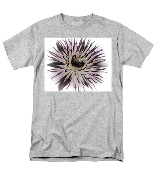 Men's T-Shirt  (Regular Fit) featuring the photograph Milky Clematis by Baggieoldboy