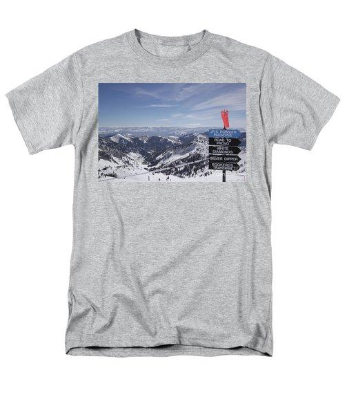 Mineral Basin Men's T-Shirt  (Regular Fit) by Adam Jewell