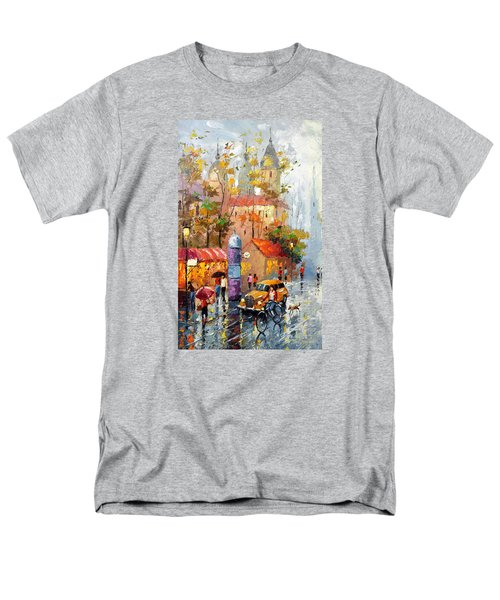 Men's T-Shirt  (Regular Fit) featuring the photograph Minutes Of Waiting 2  by Dmitry Spiros