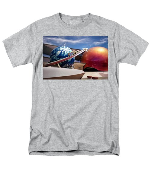Men's T-Shirt  (Regular Fit) featuring the photograph Mission Space by Eduard Moldoveanu