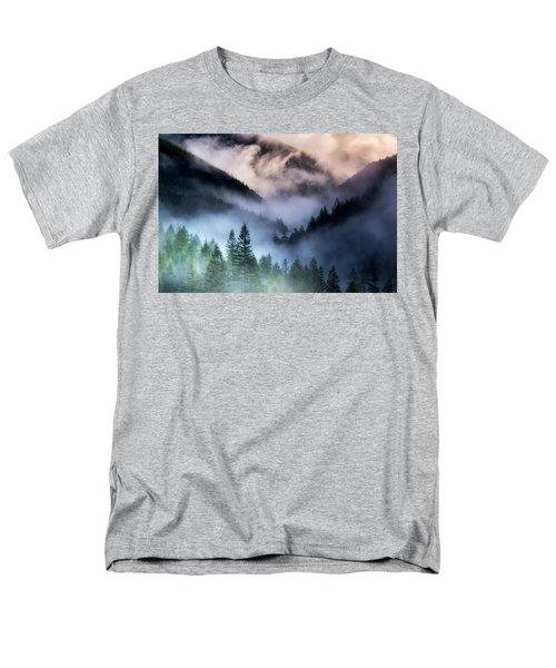 Misty Mornings Men's T-Shirt  (Regular Fit) by Nicki Frates