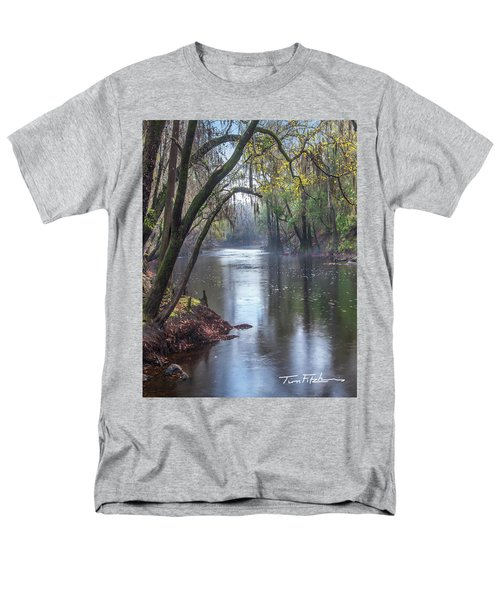 Misty River Men's T-Shirt  (Regular Fit) by Tim Fitzharris