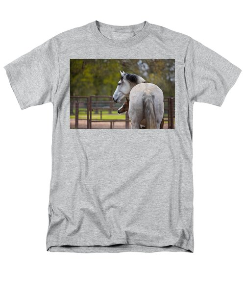 Men's T-Shirt  (Regular Fit) featuring the photograph Mom And Baby by Sharon Jones