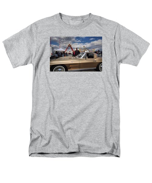 Mom N Vette Men's T-Shirt  (Regular Fit) by Robert McCubbin