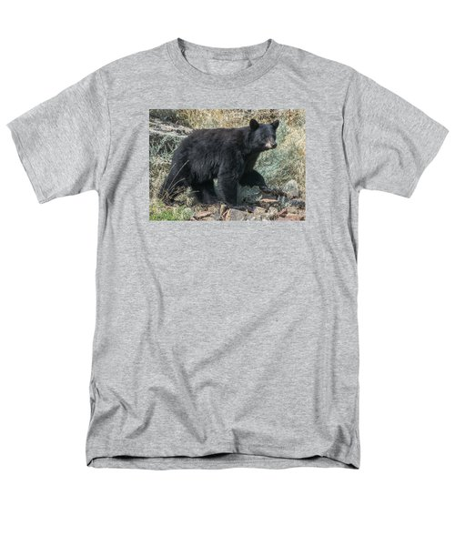 Momma Bear Walking Men's T-Shirt  (Regular Fit) by Stephen  Johnson