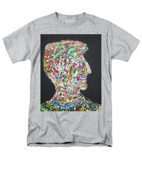 Men's T-Shirt  (Regular Fit) featuring the painting Money,sex And Power by Fabrizio Cassetta