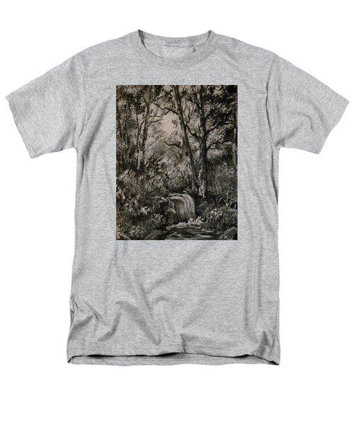 Monochrome Landscape 2 Men's T-Shirt  (Regular Fit) by Megan Walsh