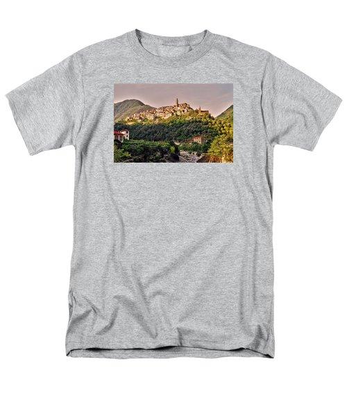Montalto Ligure - Italy Men's T-Shirt  (Regular Fit) by Juergen Weiss