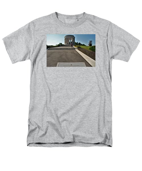 Montsec American Monument Men's T-Shirt  (Regular Fit) by Travel Pics