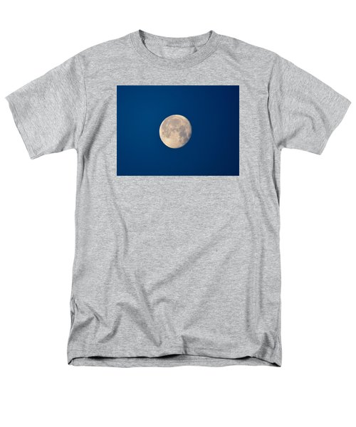 Men's T-Shirt  (Regular Fit) featuring the photograph Moon In The Morning by Dacia Doroff