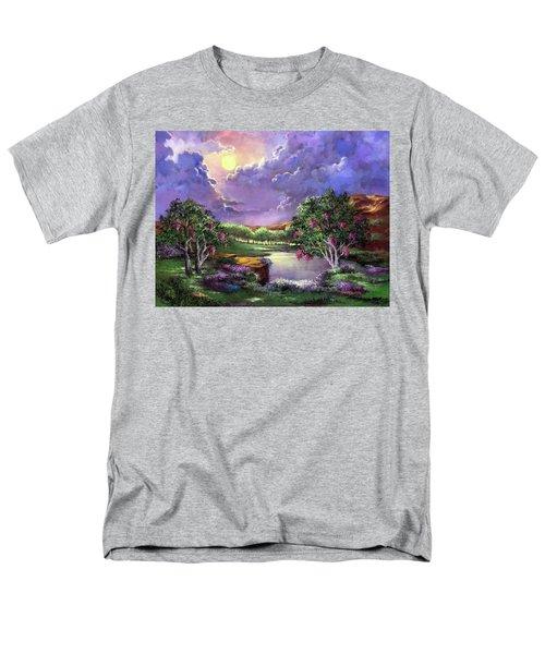 Moonlight In The Woods Men's T-Shirt  (Regular Fit)