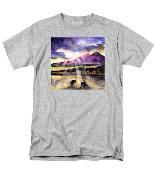 Mooring In Vancouver Tonight Men's T-Shirt  (Regular Fit) by Randy Sprout