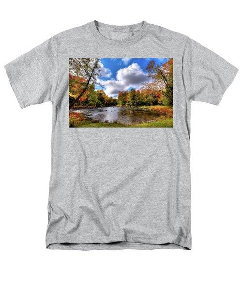Moose River Near Scusa Road Men's T-Shirt  (Regular Fit) by David Patterson
