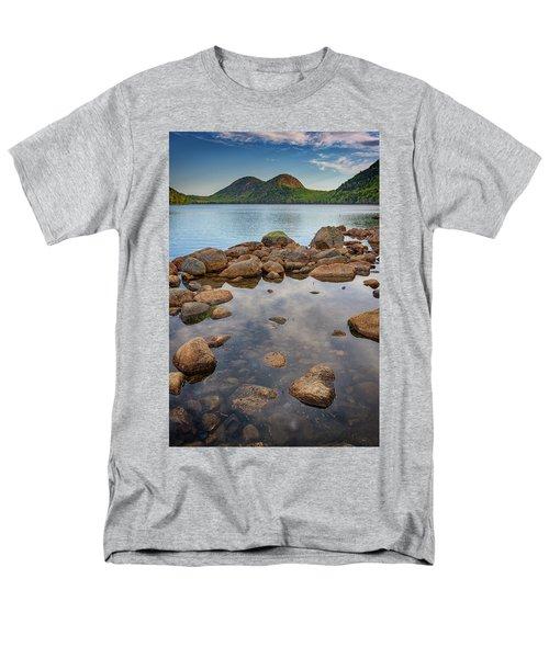 Morning At Jordan Pond Men's T-Shirt  (Regular Fit) by Rick Berk