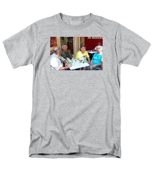 Morning Coffee Men's T-Shirt  (Regular Fit) by Allan Levin