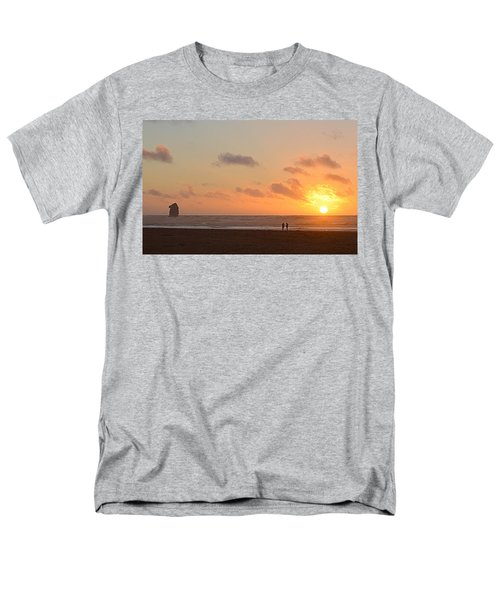 Morro Sunset Men's T-Shirt  (Regular Fit) by AJ Schibig