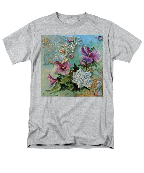 Men's T-Shirt  (Regular Fit) featuring the painting Mothers Althea by Suzanne McKee