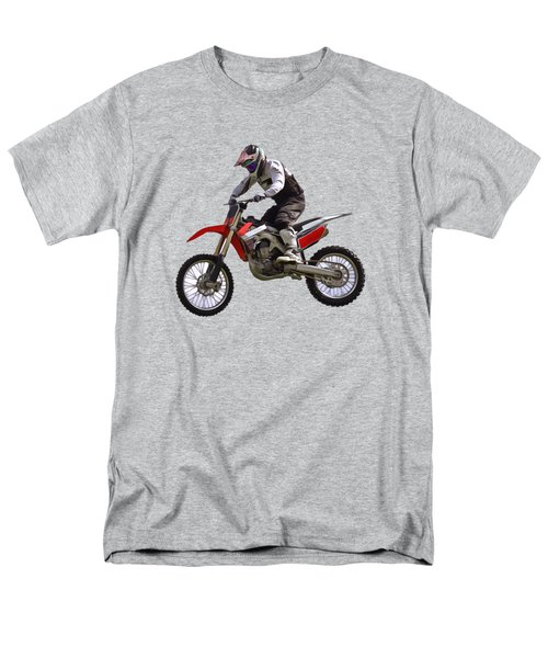 Motocross Men's T-Shirt  (Regular Fit) by Scott Carruthers