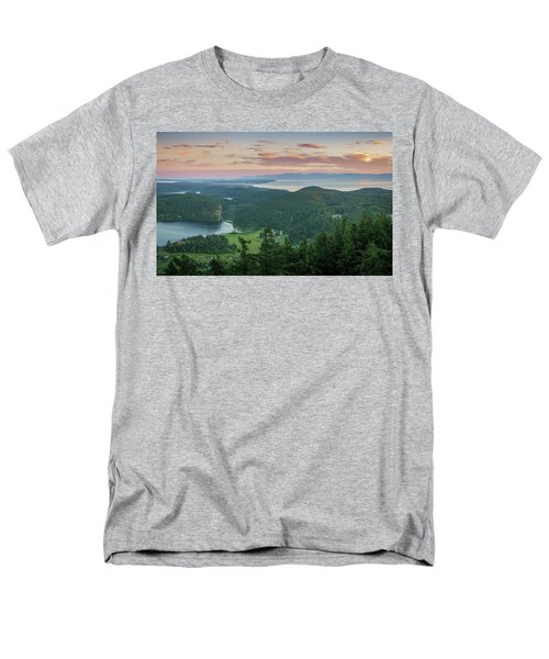 Mount Erie Viewpoint Men's T-Shirt  (Regular Fit) by Ken Stanback