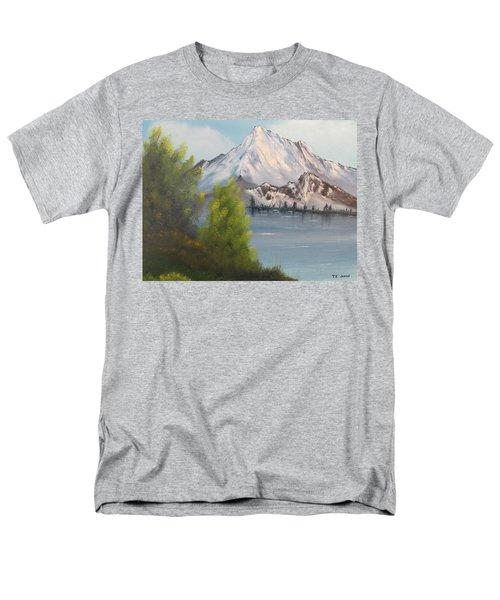 Mountain Lake Men's T-Shirt  (Regular Fit) by Thomas Janos