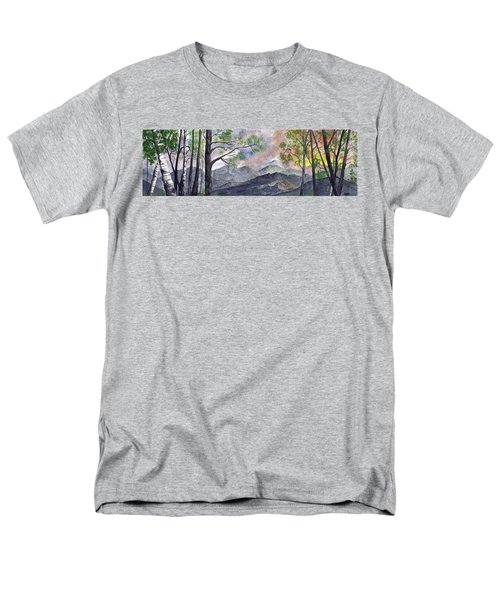 Mountain Morning Men's T-Shirt  (Regular Fit) by Terry Cork