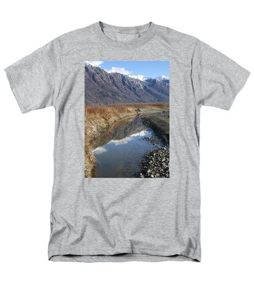 Mountain Reflections In Fall Men's T-Shirt  (Regular Fit) by Michele Cornelius