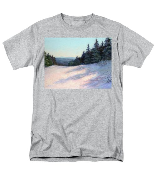 Mountain Stillness Men's T-Shirt  (Regular Fit) by Vikki Bouffard