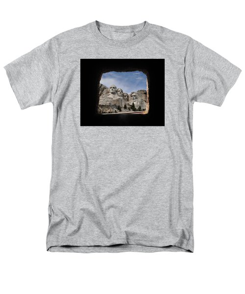 Men's T-Shirt  (Regular Fit) featuring the photograph Mt Rushmore Tunnel by David Lawson