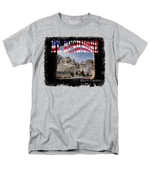 Mt. Rushmore -tunnel Vision Men's T-Shirt  (Regular Fit) by David Lawson