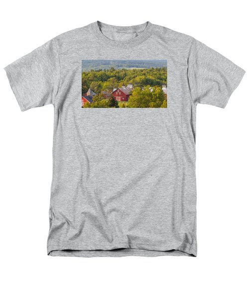 Mt View Farm In Summer Men's T-Shirt  (Regular Fit) by Tim Kirchoff