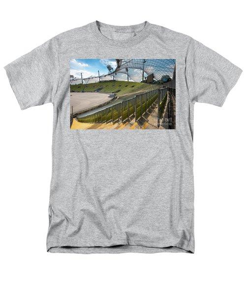 Munich - Olympic Stadium Men's T-Shirt  (Regular Fit) by Juergen Klust
