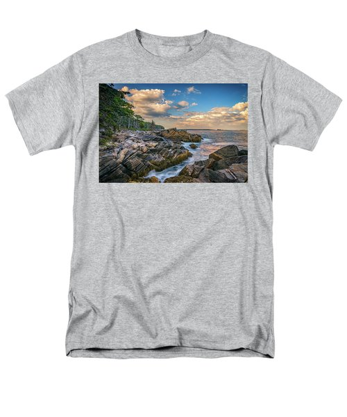 Muscongus Bay Men's T-Shirt  (Regular Fit) by Rick Berk
