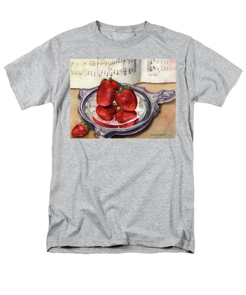 Men's T-Shirt  (Regular Fit) featuring the painting My Antique Mirror by Anne Gifford