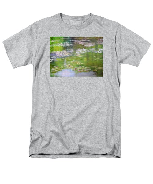 Men's T-Shirt  (Regular Fit) featuring the painting My Giverny by Sandra Nardone