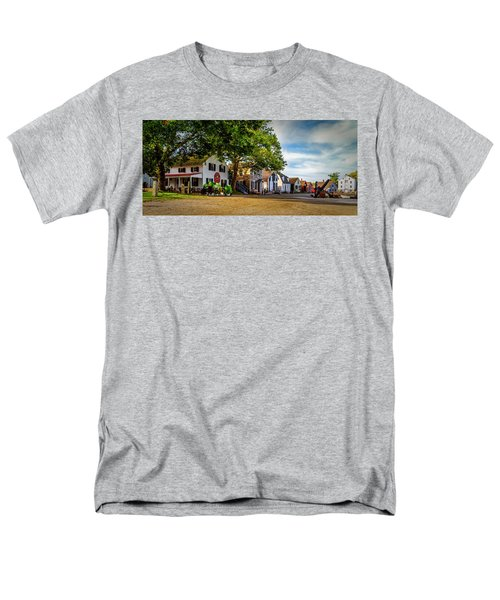 Mystic Seaport Village Men's T-Shirt  (Regular Fit)