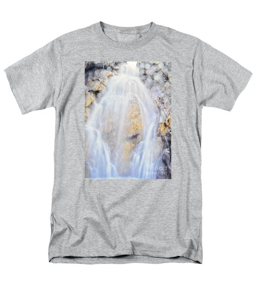 Men's T-Shirt  (Regular Fit) featuring the photograph Mystical Falls by Janie Johnson